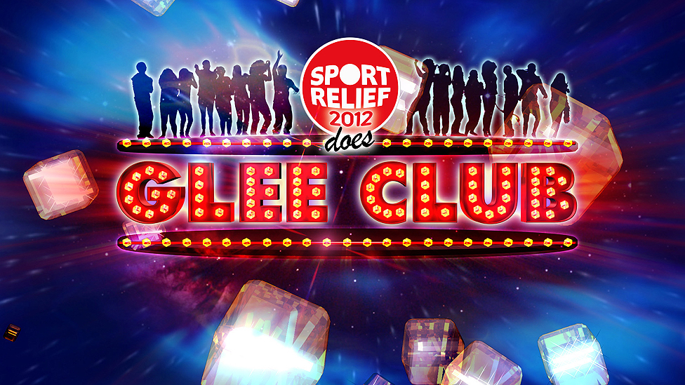 Sport Relief Does Glee