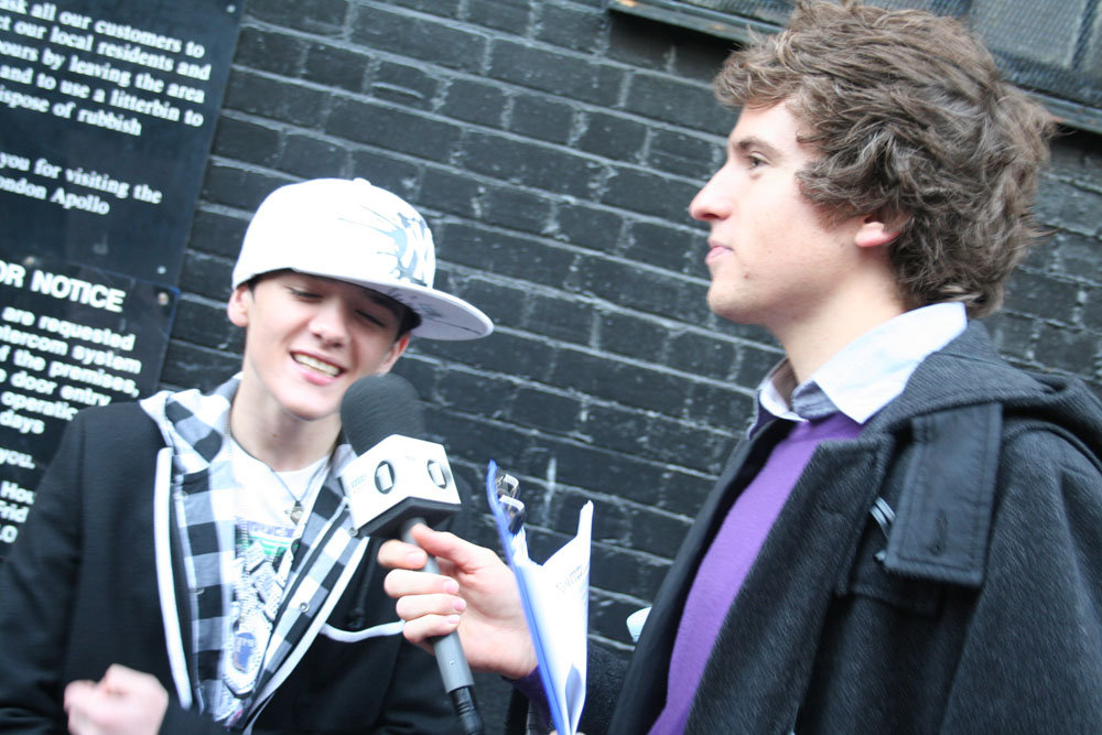 Greg James interviews Mr George Sampson