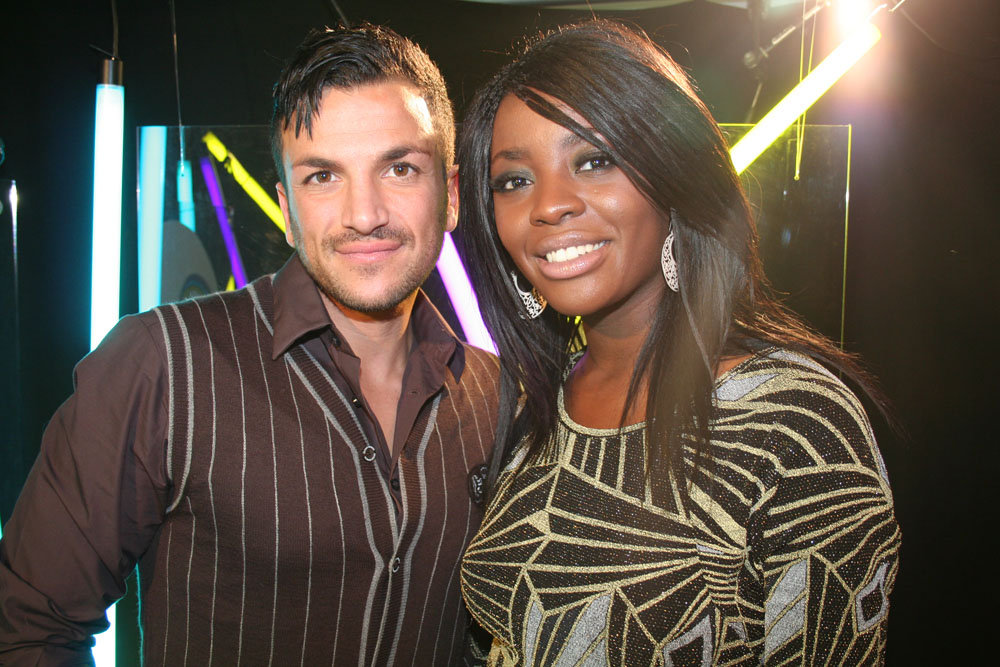 Peter Andre with AJ