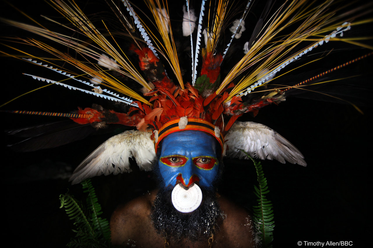 Jungles / Papua New Guinea by © Timothy Allen/BBC - from Human Planet