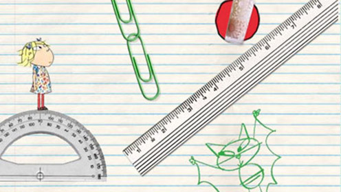 Lola, protractor and ruler