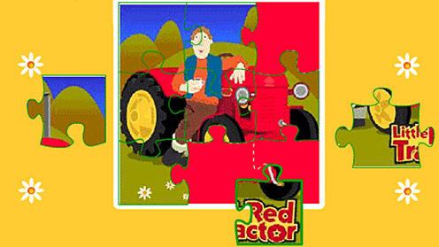 Little Red Tractor - Jigsaw Puzzle
