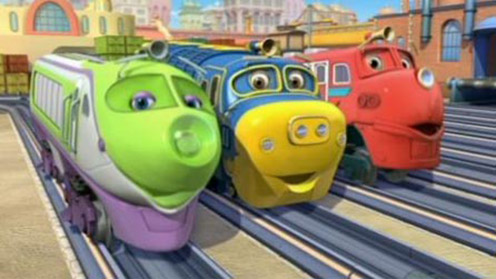 Chuggington - Colour The Chuggers