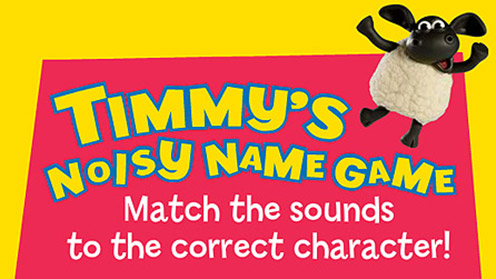 Timmy Time - Timmy's Noisy Name Game