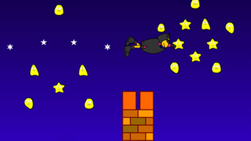 Stars and chimney