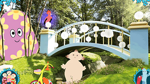 In the Night Garden characters and bridge