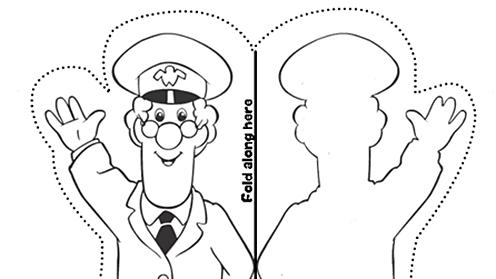 Postman Pat finger puppet