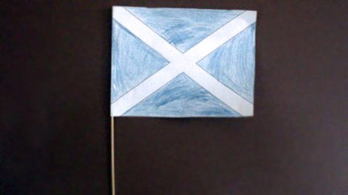 St Andrew's Day - Scottish Flag