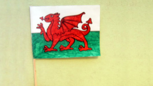 St David's Day - Welsh Flag