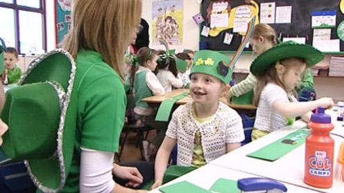 St Patrick's Day - Rainbow Hat
