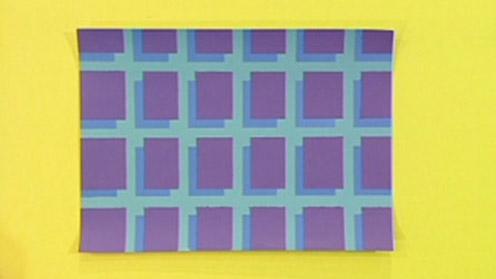 Masking tape pattern