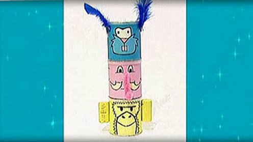 Mister Maker - Totem Pole Holder
