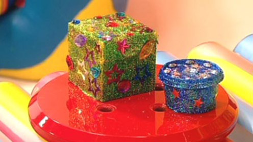 Glittery Boxes