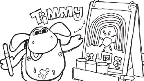Timmy Time prints