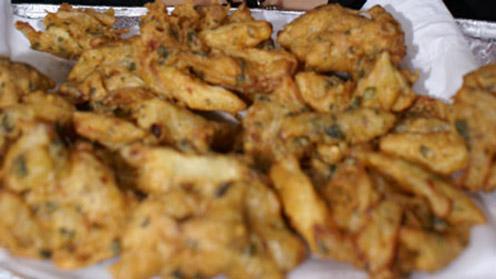 Eid-al-Fitr - Onion Pakoras