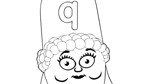 Alphablocks - letter q