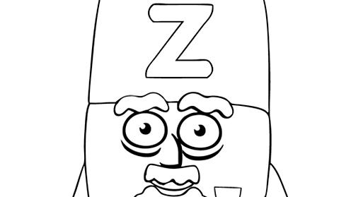 Alphablocks - letter z