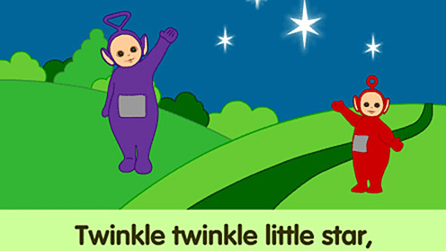 Tinky Winky and Po
