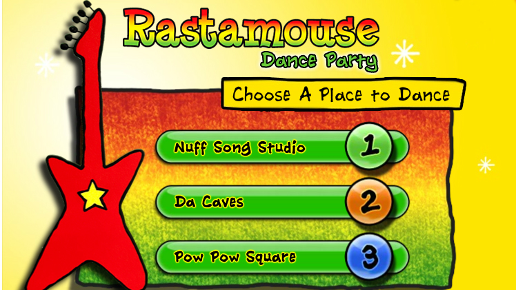 Rastamouse Dance Party