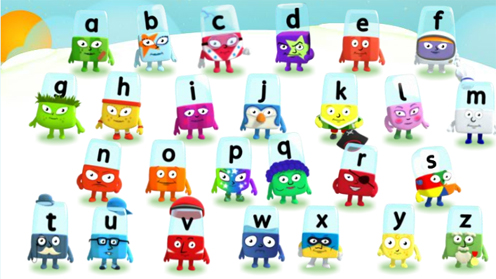 Alphablocks game