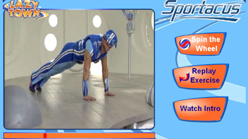 LazyTown - Work Out With Sportacus