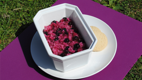 Blackcurrant Rice