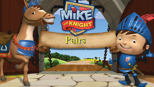 Mike The Knight - Pairs Game