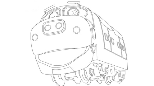 Chuggington prints