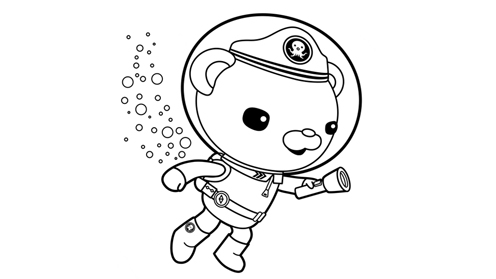 Octonauts prints