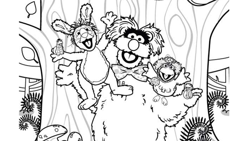 Sesame Tree prints