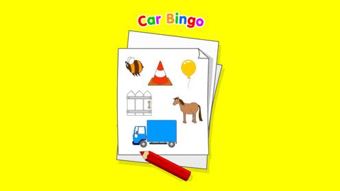 Balamory - Car Bingo