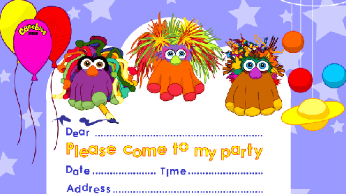 Party Invitation Make