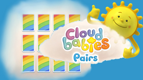 The Sun with the Cloudbabies pairs logo
