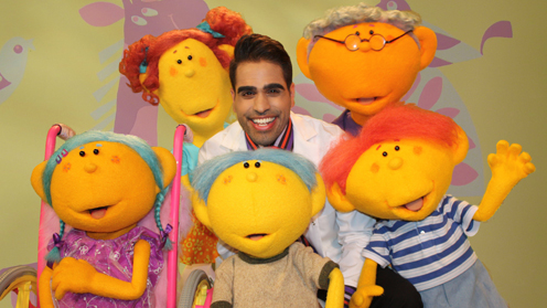 Dr Ranj, Kiwa, Petal, Riz, Deep and Jobi