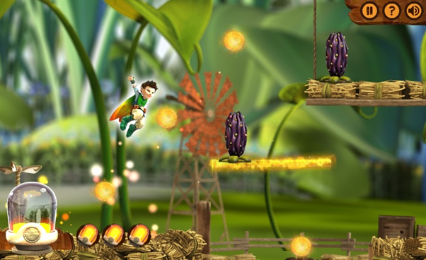 Tree Fu Tom: Magic Dash