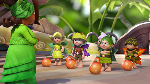 Tree Fu Tom Spell School