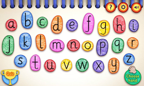 Get Squiggling Letters Game