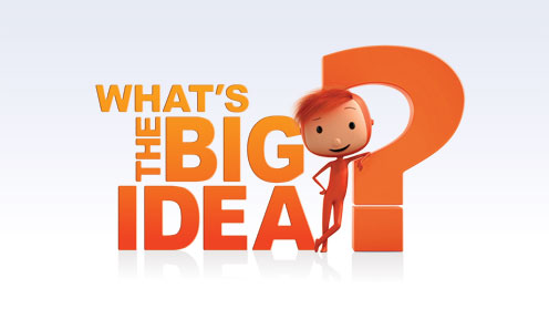 What's The Big Idea logo and Hugo