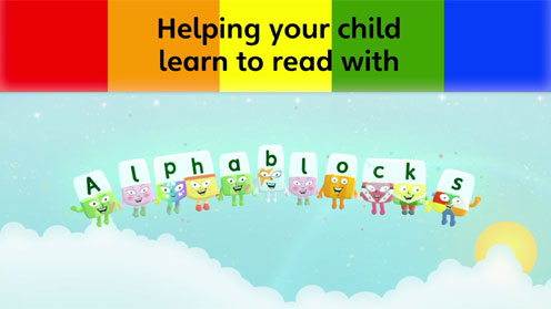Helping your child learn to read with Alphablocks