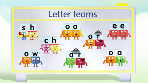 Alphablocks guide to: Letter teams (digraphs)