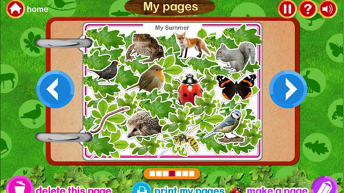 Wildlife Scrapbook