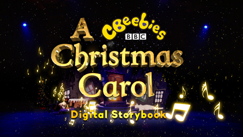 A CBeebies Christmas Carol Digital Storybook