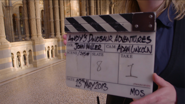 Andy's Dinosaur Adventures - Behind the scenes