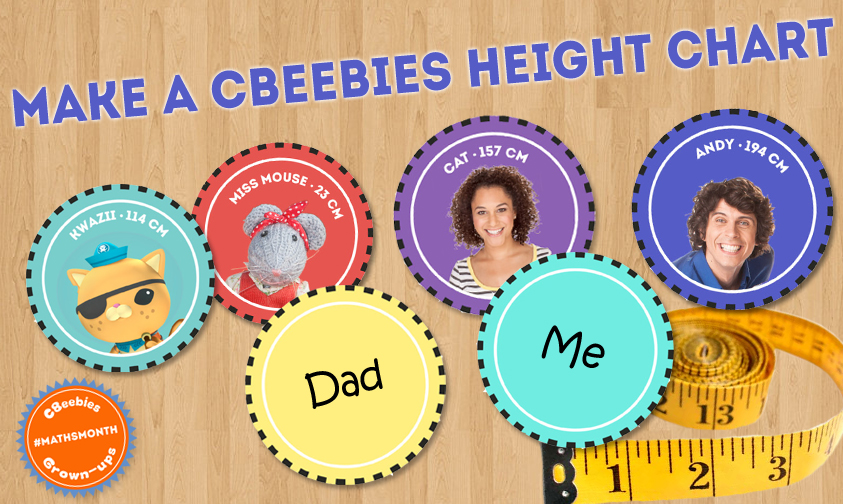 CBeebies Height Chart