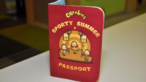 CBeebies Sporty Summer Passport