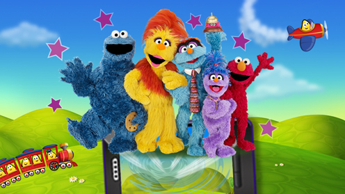 The Furchester Hotel in the CBeebies Playtime App