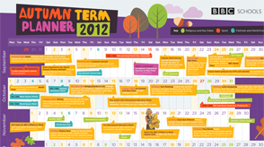 2012 autumn term planner
