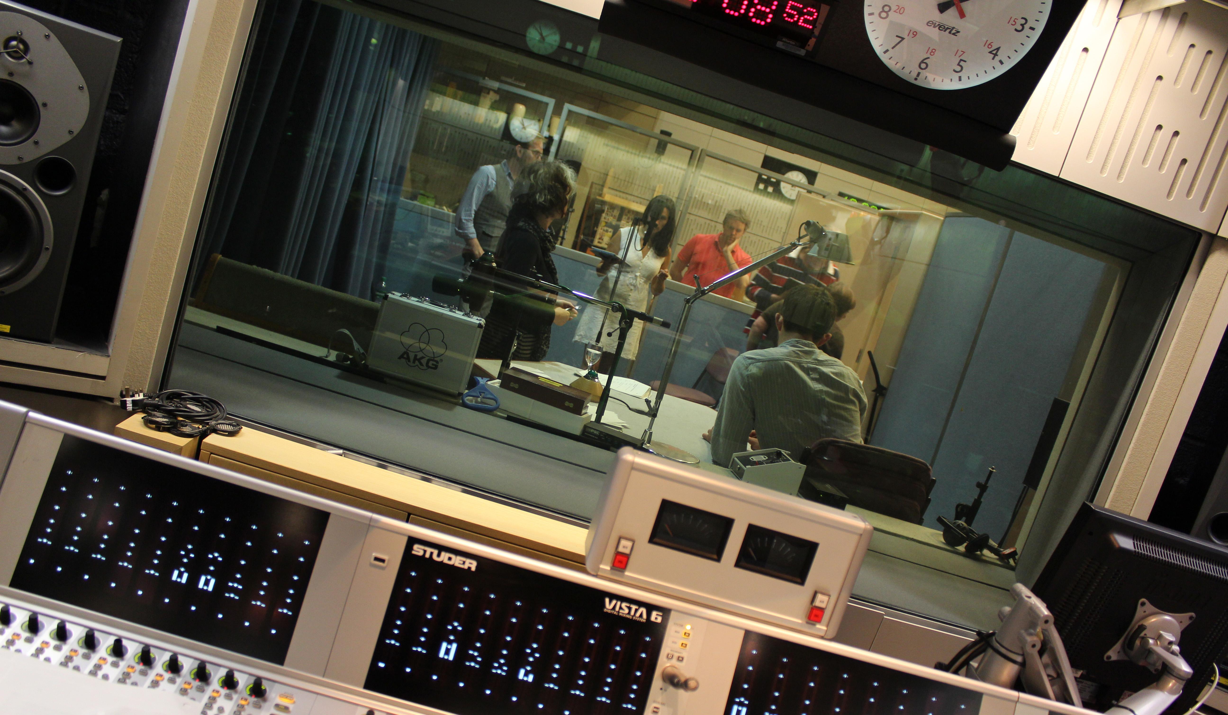 Radio Drama recording