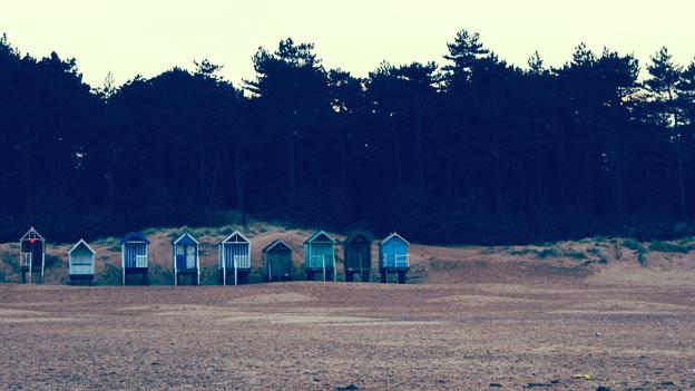 beach huts image