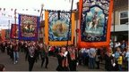 Tens of thousands of Orangemen take part in marches